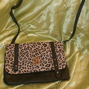 Tommy Hilfiger crossbody leopard bag